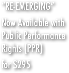 """RE-EMERGING""