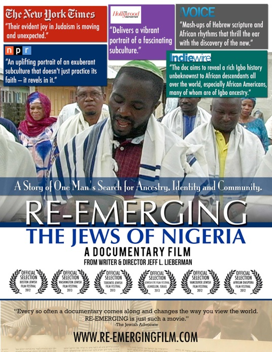 RE-EMERGING: The Jews of Nigeria, A Documentary Film by Jeff L. Lieberman